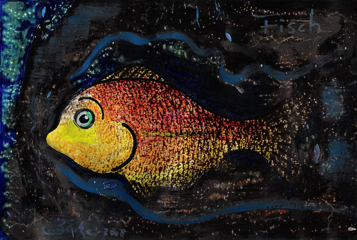 Kunst Design Fisch