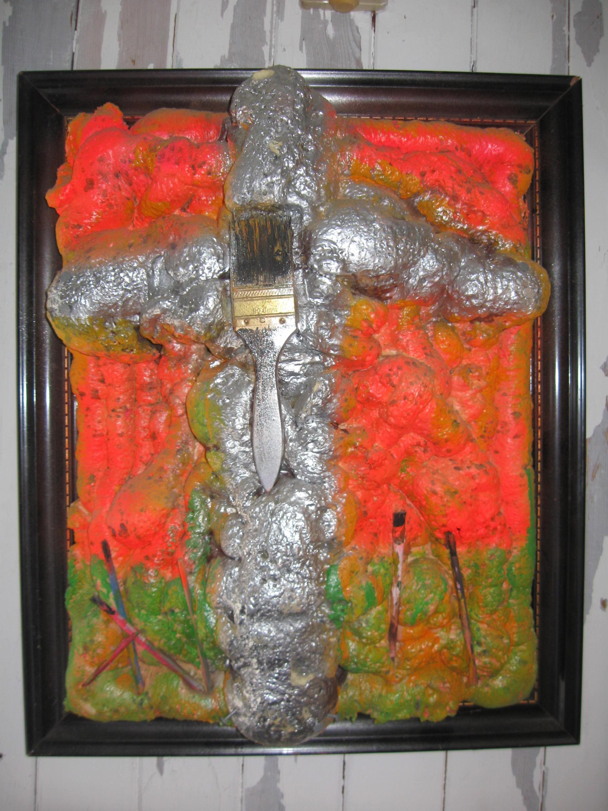 Kreuzigung des Pinsels