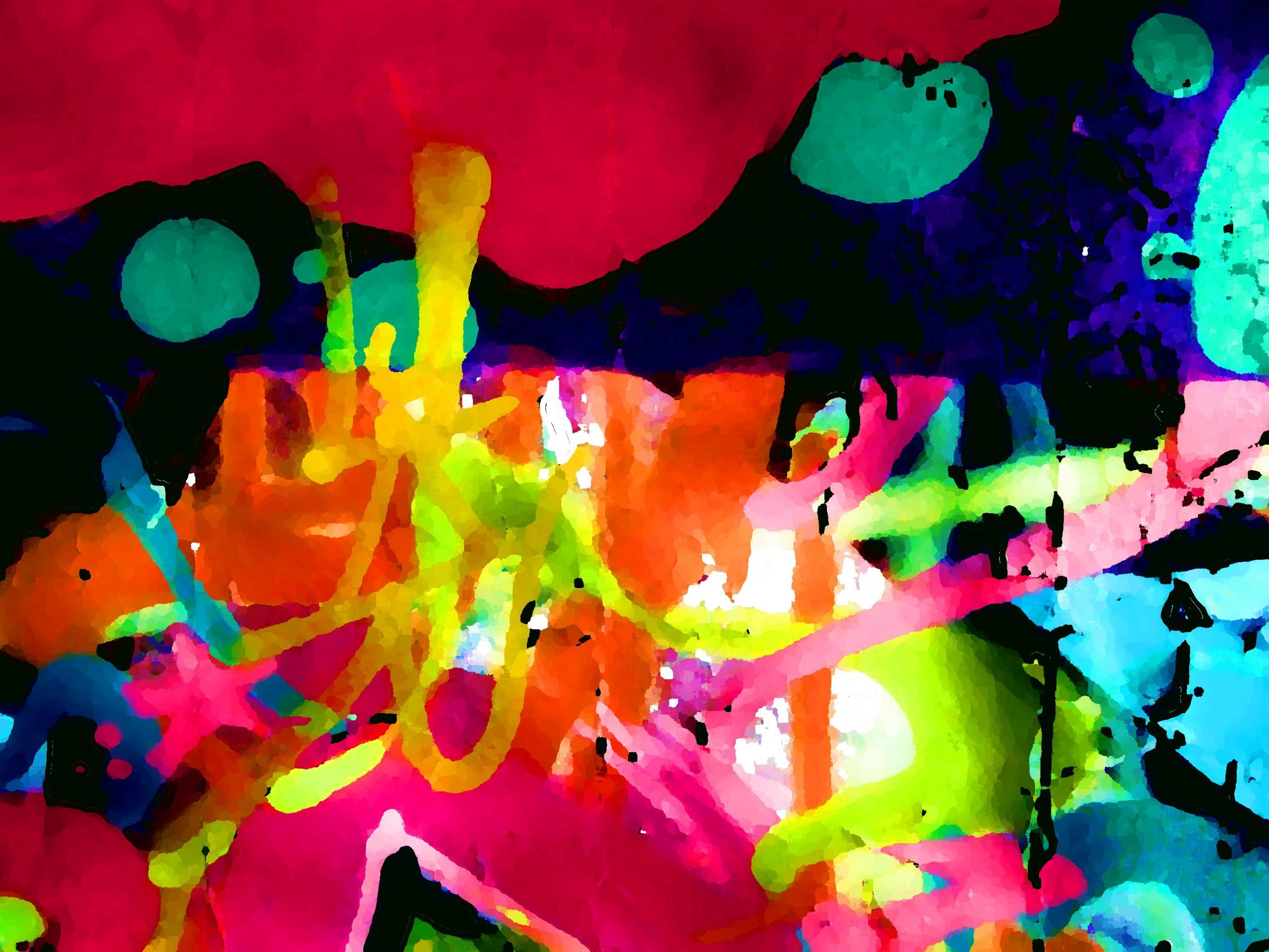 Abstrakt ist... so doof, wie Unvermögen als Können zu verkaufen und selbst daran zu glauben, damit schon ein guter Künstler zu sein!